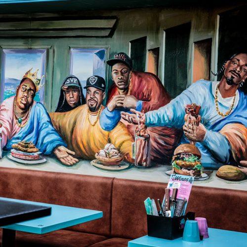 best burgers in bondi - milky lane restaurant