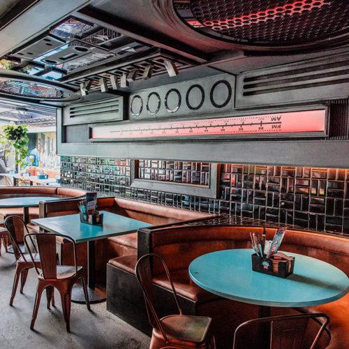burger restaurant in bondi - milky lane bondi