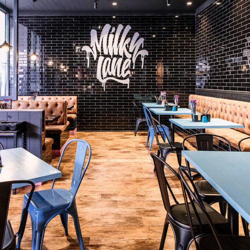 burger restaurant in paramatta - milky lane restaurant